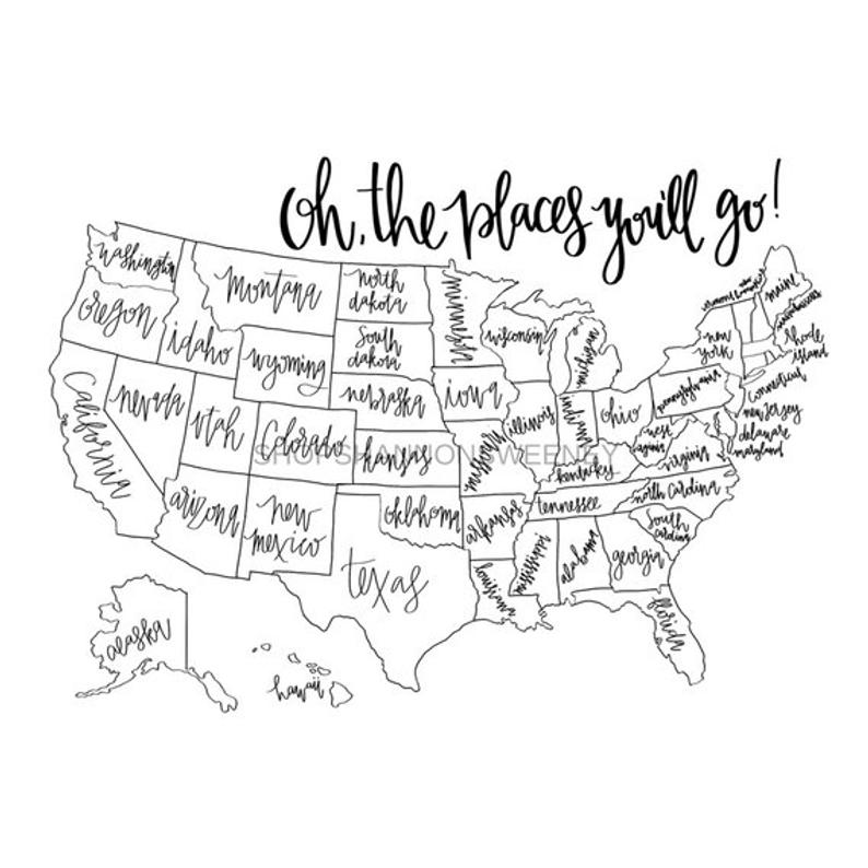 36+ United states map coloring page online info