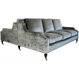 windsor smith aristocratic double sided sofa | presidio heights