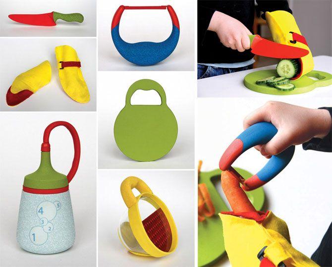 Kitchen Kits utensilios de cocina para que los niños jueguen ...