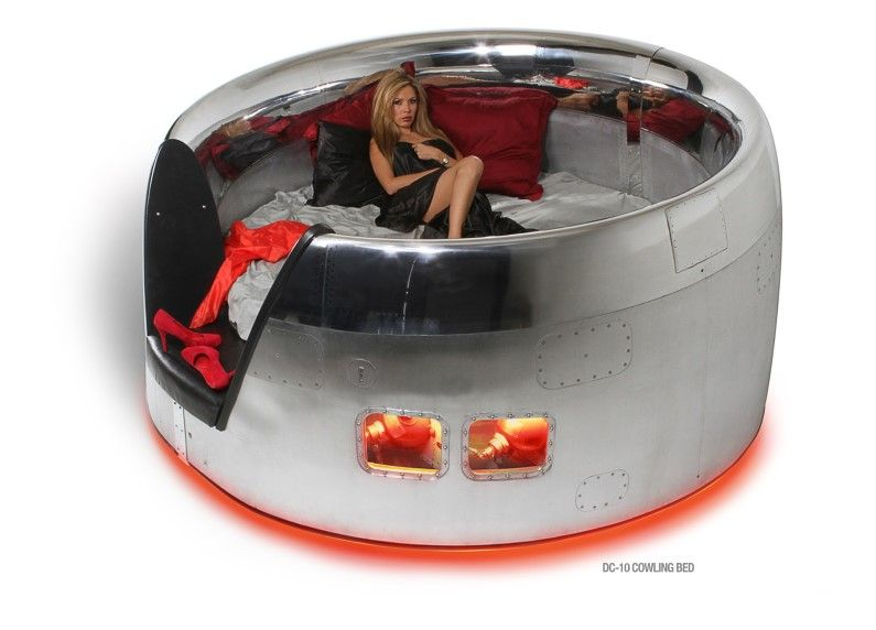 Photo of MotoArt : Futuristic furniture from retired airplanes. A piece of aviation history