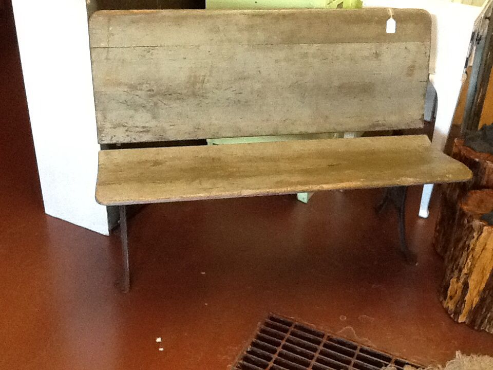 Antique 1860's fold up bench