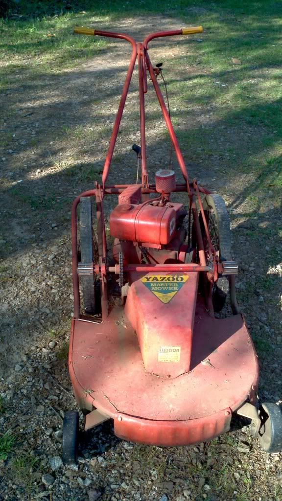 Yazoo S24 Probably Early To Mid 70s Push Lawn Mower Lawn Mower Tractor Lawn Tractor