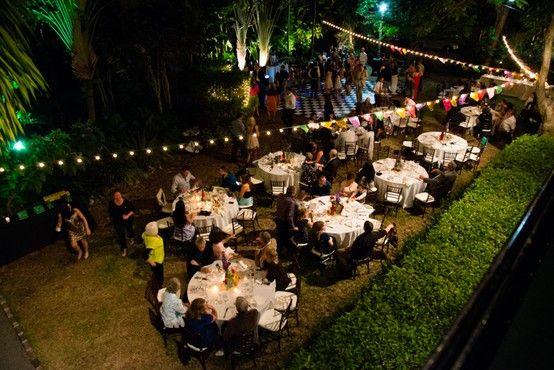 Hemingway House Reception Key West Wedding Jhunter Photo