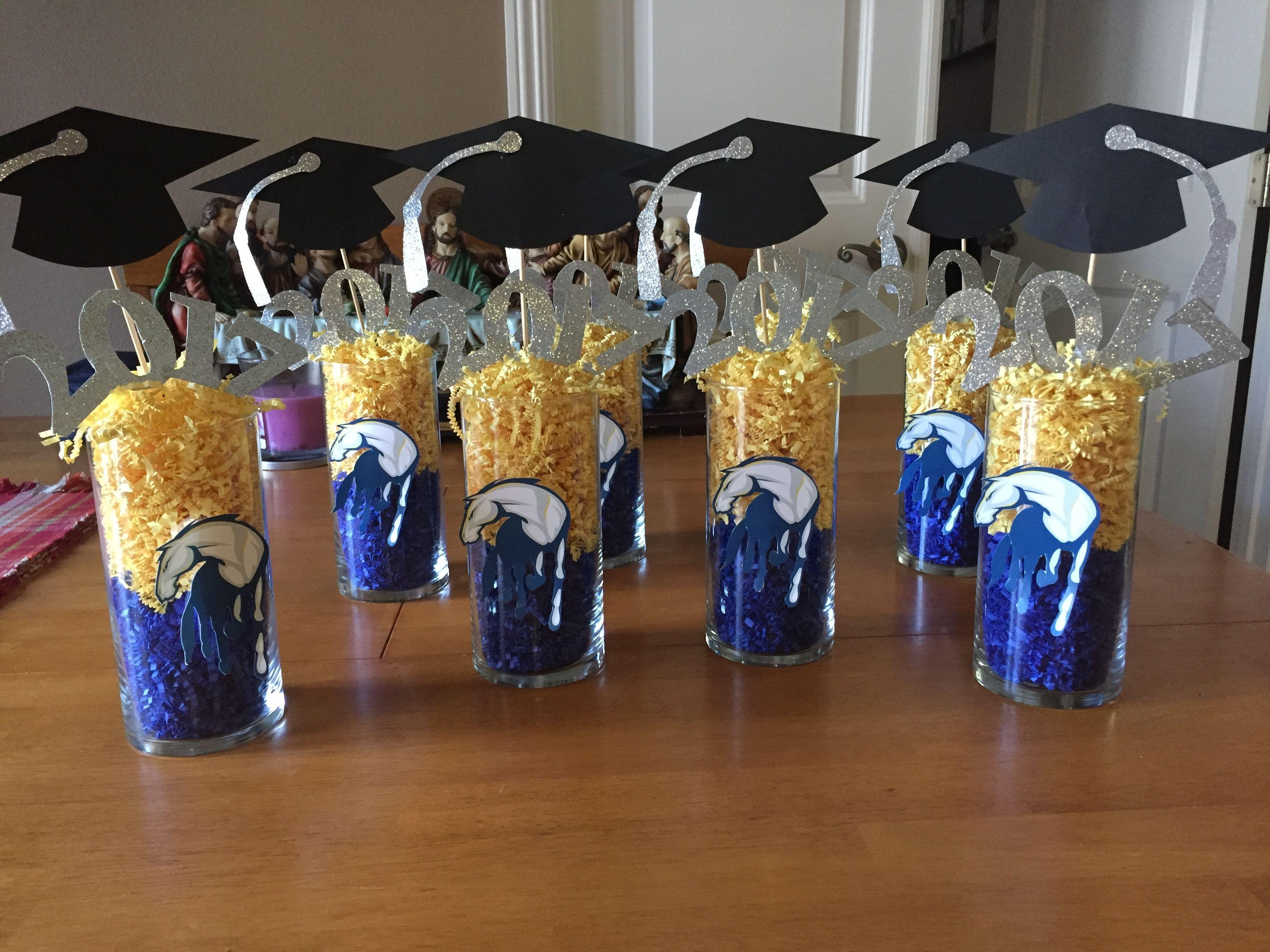 Uc Davis Graduation Centerpieces Graduation Party Centerpieces Graduation Party Decor Graduation Party Inspiration