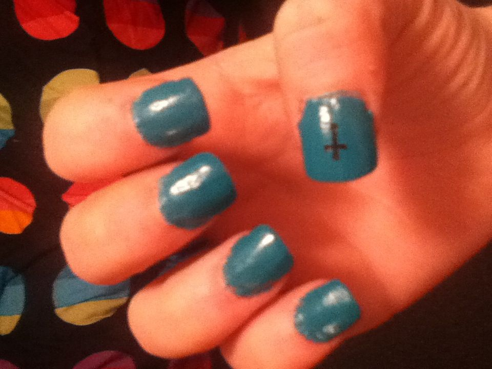 Did my own acrylic nails
