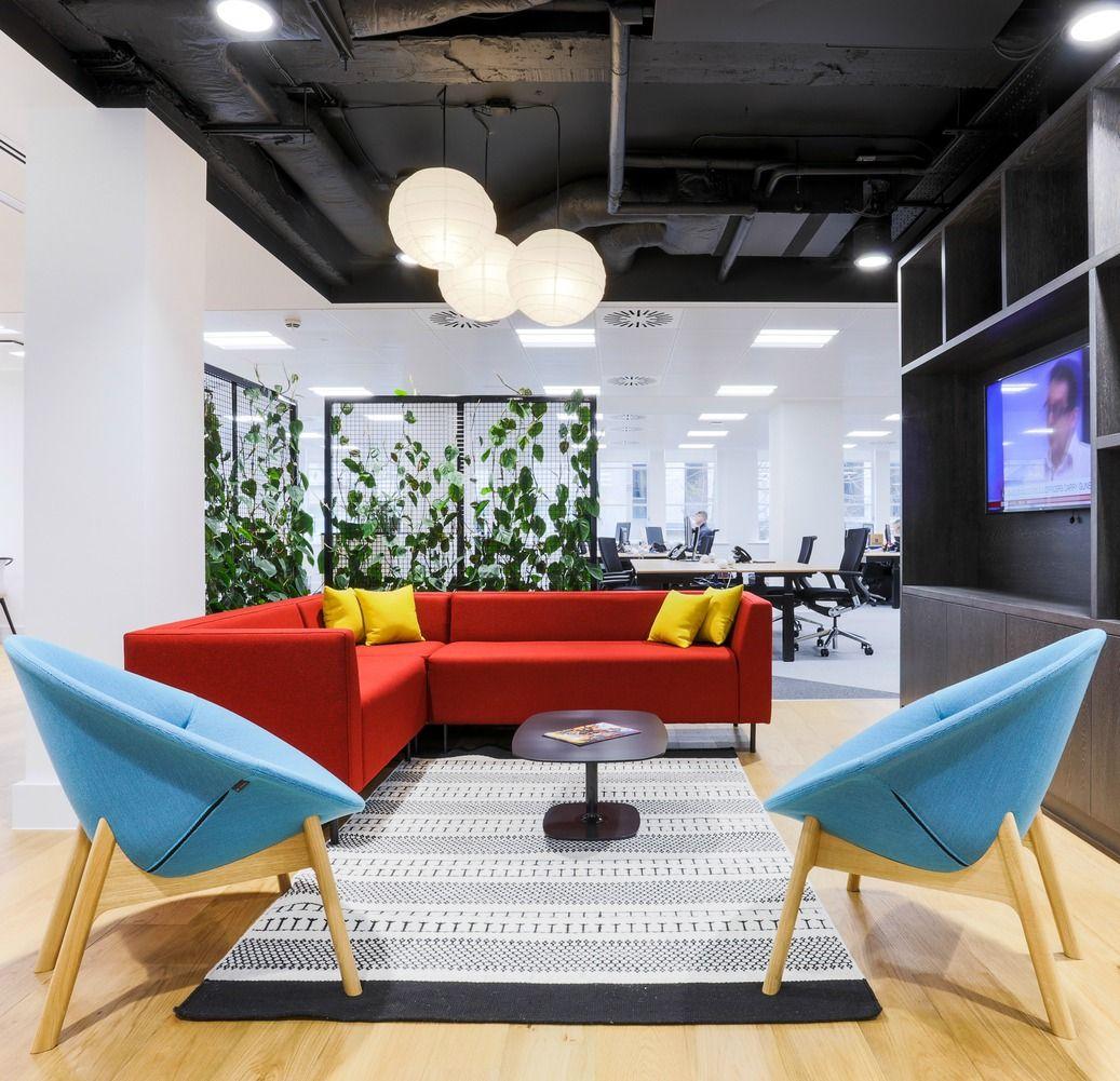 Blue Office: Inspirational Office Design Case Studies In 2019