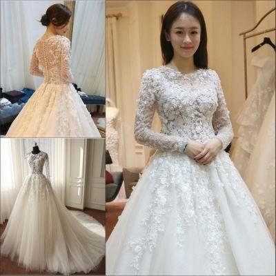 Gaun Pengantin Cystal Lengan Panjang Bridal Outfit Collection