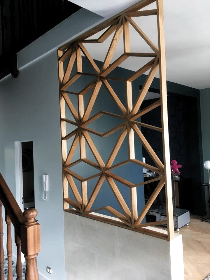 Pin By Renee Meacham On Inspiracao Casa Ap Decor Modern Room Divider Diy Furniture Projects