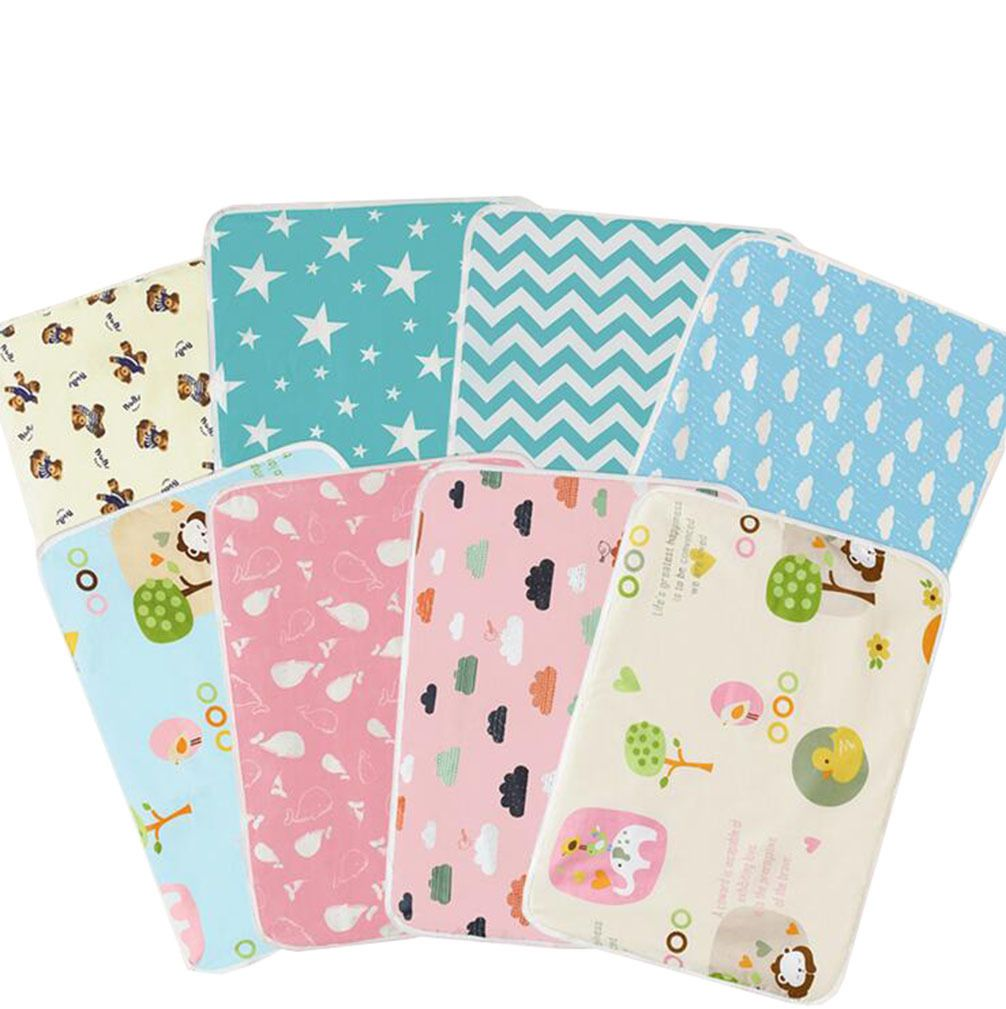 070d58e79e8  2.73 - Super Soft Infant Baby Waterproof Cotton Urine Mat Cover Changing  Pad  ebay  Home   Garden