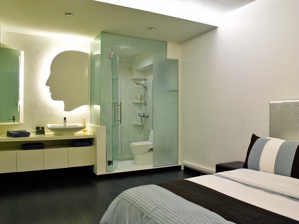 Open Concept Bathroomensuite Bathroom Within The Master Bedroom Unique Master Ensuite Bathroom Designs Design Ideas
