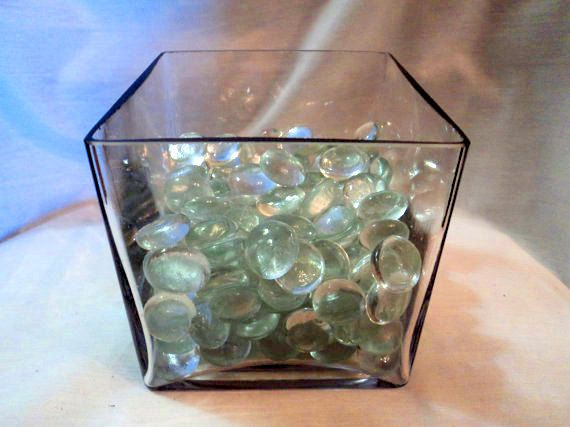 Clear glass objects in clear glass container by WhiskeysWhims