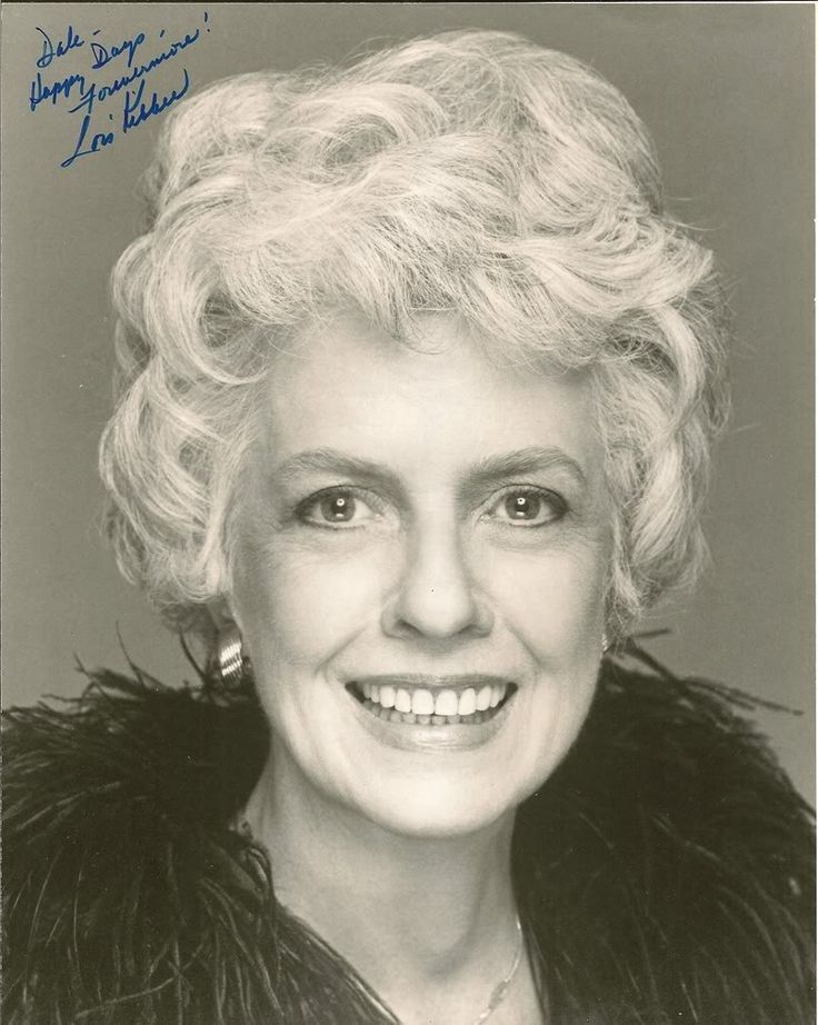 Lois is best remembered for portrayal of Geraldine Weldon