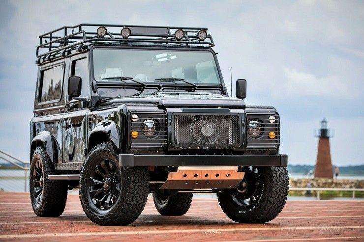 East Coast Defender Project Blackout Land Rover Defender Defender 90 East Coast