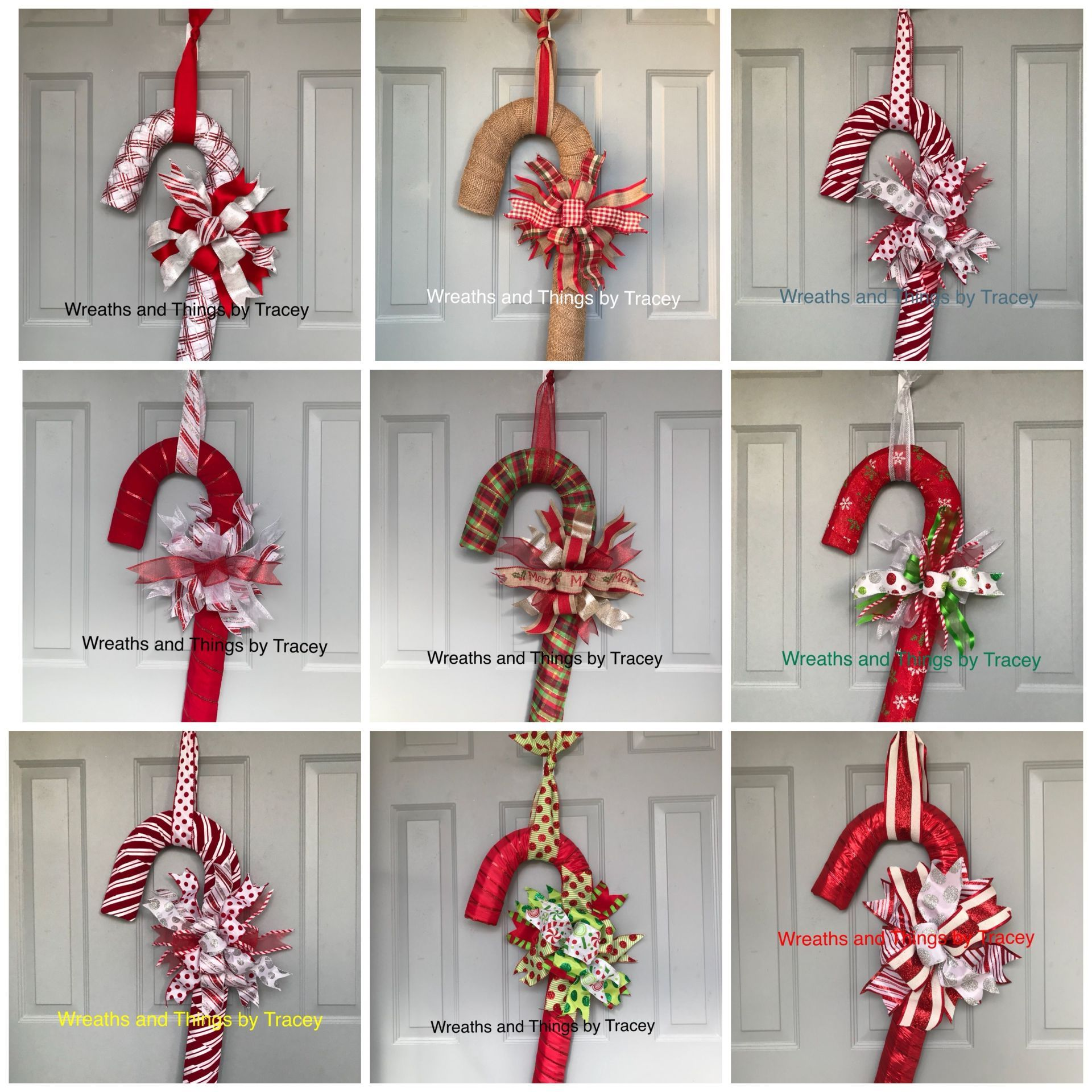 Photo of decorazioni natalizie nastro dt bastoncini di zucchero ghirlande e cose di tracey | piqlet.us