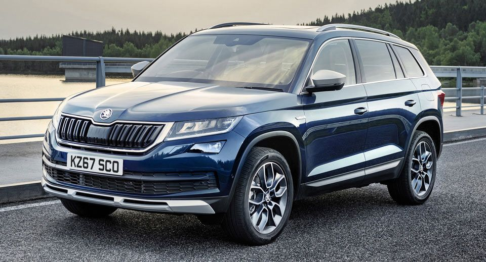 Skoda Kodiaq Scout Can Be Had From 32 330 In The Uk Sweet Cars