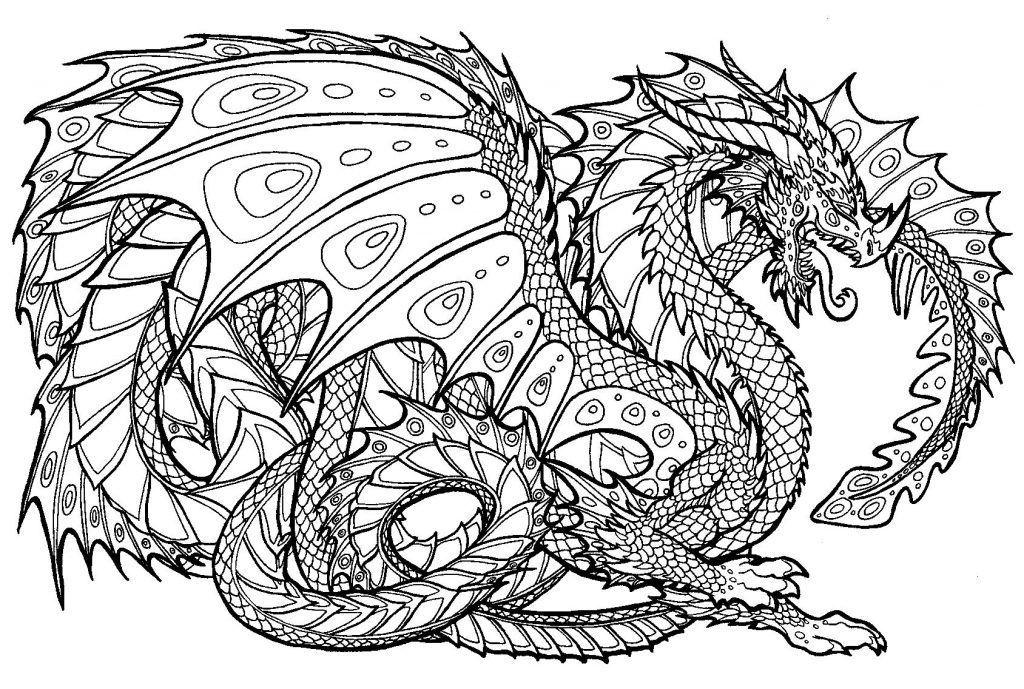 45dbf408288b238f9d9753c6edbdedeb » Easy Dragon Coloring Pages