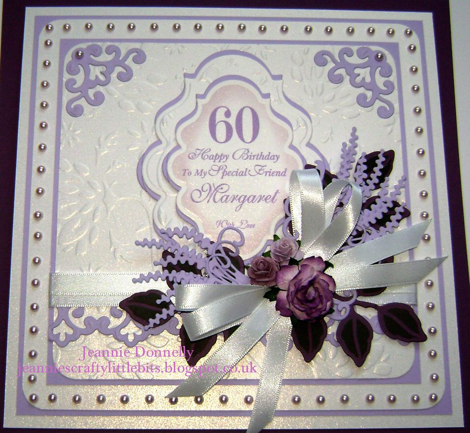 0ae14217942 60th Birthday with Spellbinders Dies