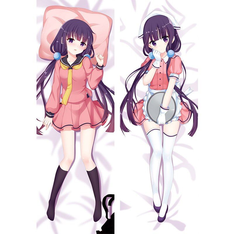 Hugging Body Pillow Case Cover for Game