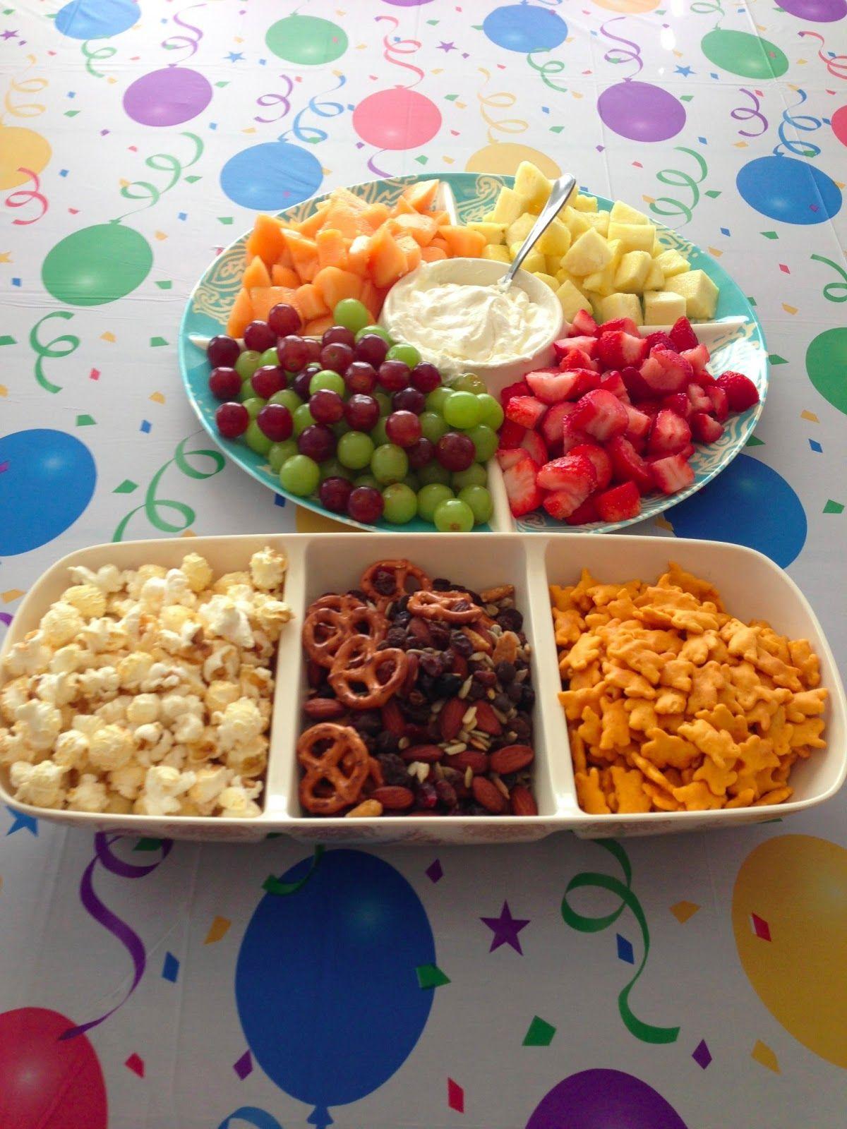 Healthy Kids Birthday Party Birthday snacks