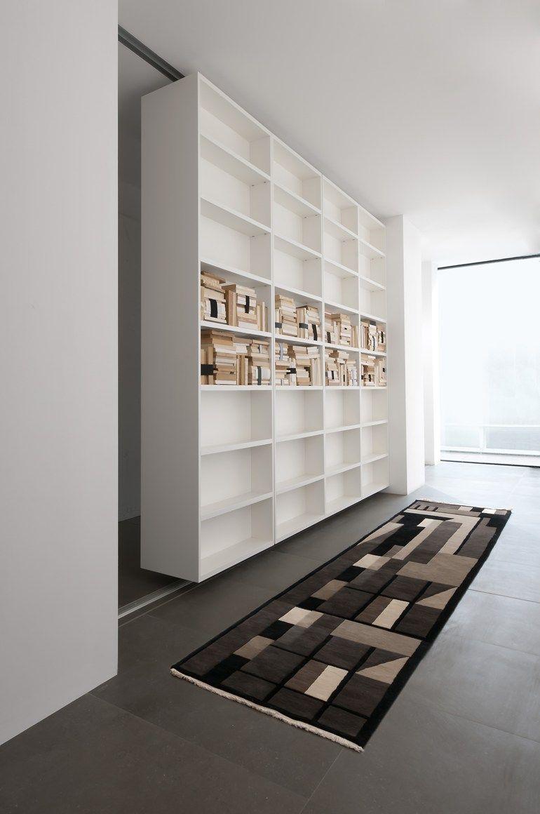 Divider swivel bookcase vista bookcase albed by delmonte dom
