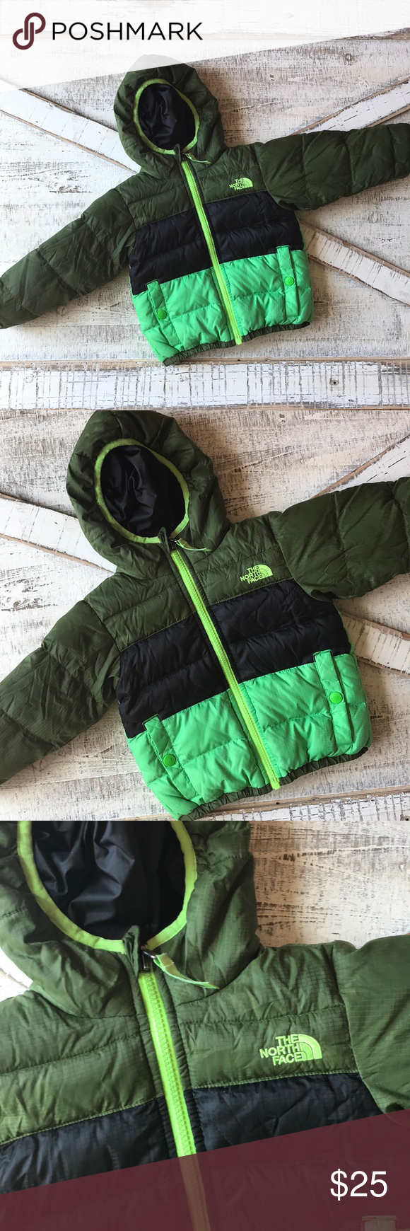 The North Face Puffer Reversible Jacket Boys 2t The North Face Puffer North Face Puffer Reversible Jackets [ 1740 x 580 Pixel ]