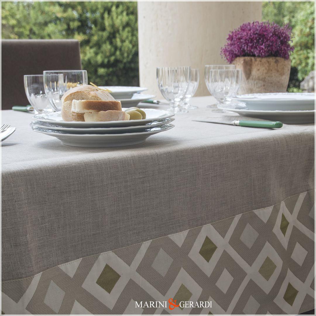Tovaglia Da Tavola Moderna tovaglie da tavola eleganti déco tovaglie di lino | marini