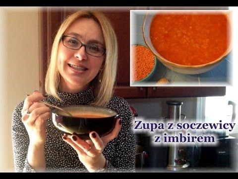Aromatyczna Zupa Z Czerwonej Soczewicy Kierunek Zdrowie Recetas Recetas Para Cocinar