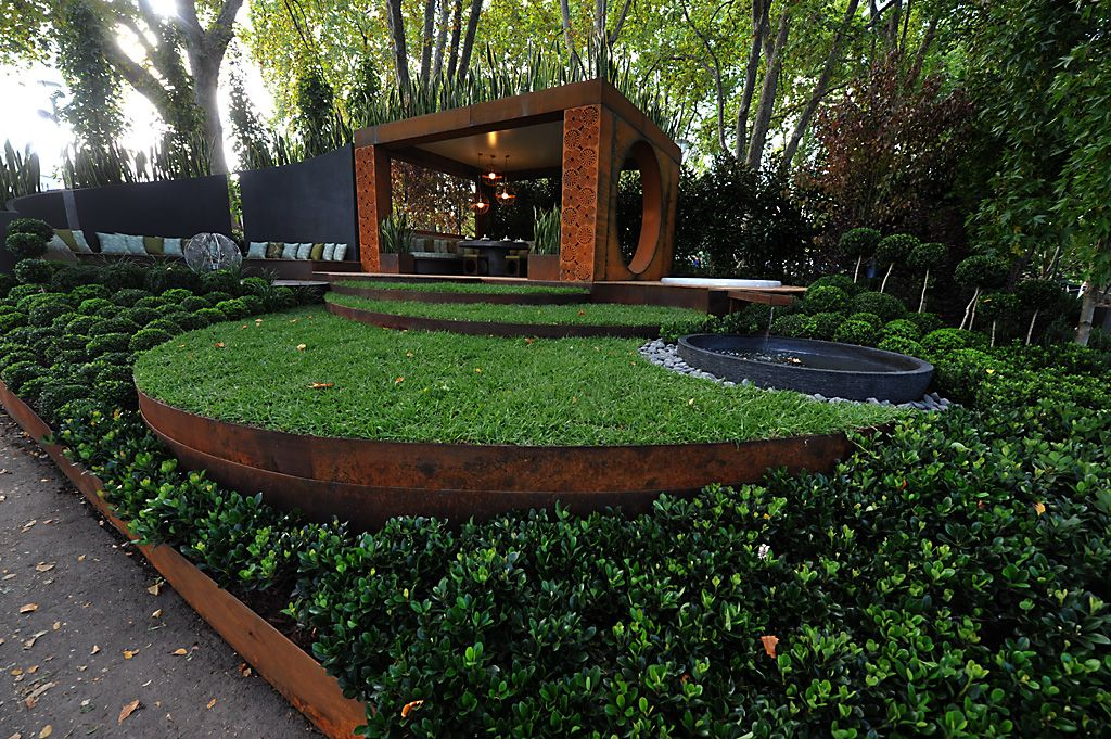 Innovative metal landscape edging design ideas and decor for Garden edging