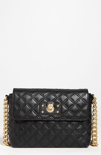 MARC JACOBS 'Quilting - Large Single' Leather Shoulder Bag ... : marc jacobs single quilted bag - Adamdwight.com