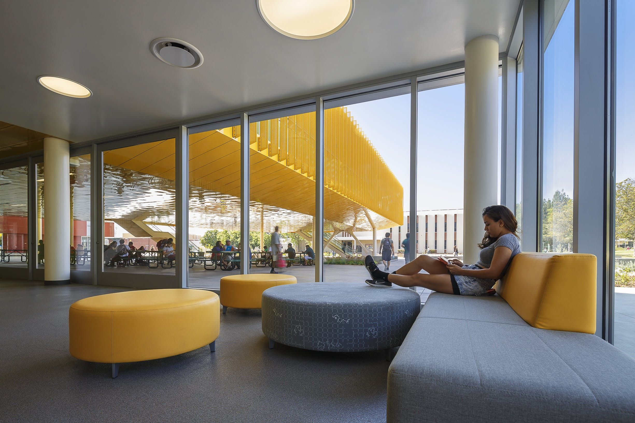 Student Center Design Completed At Los Angeles Valley College Lpa Inc Student Center Valley College Design