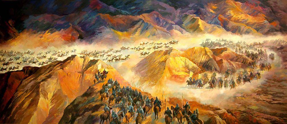 Genghis Khan's Strategic Retreat at Karakoram