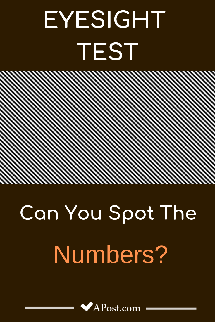eye test optical illusions riddles number sight double brain teasers apost spot hidden