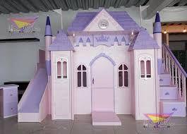Camas literas para ni as con forma de castillo a medida for Recamaras infantiles queretaro