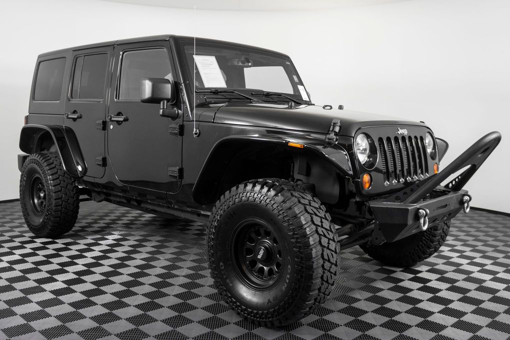 2013 Jeep Wrangler Unlimited Sport 4x4 Clean Carfax 4x4