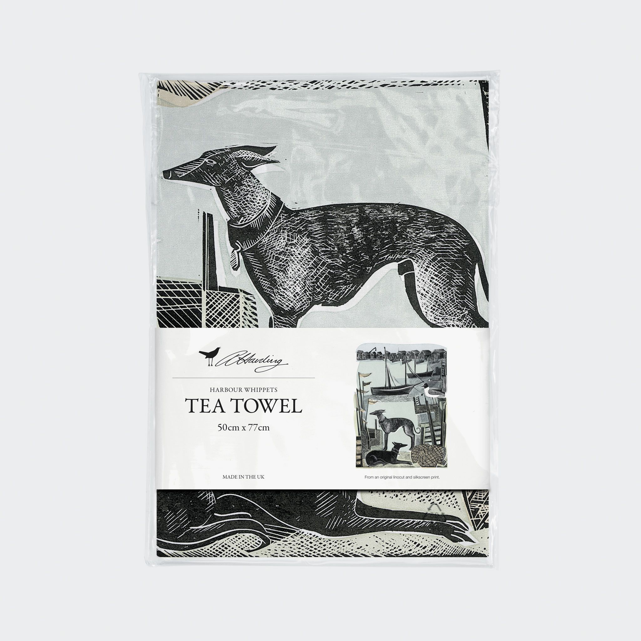 Whippet Dish Towel