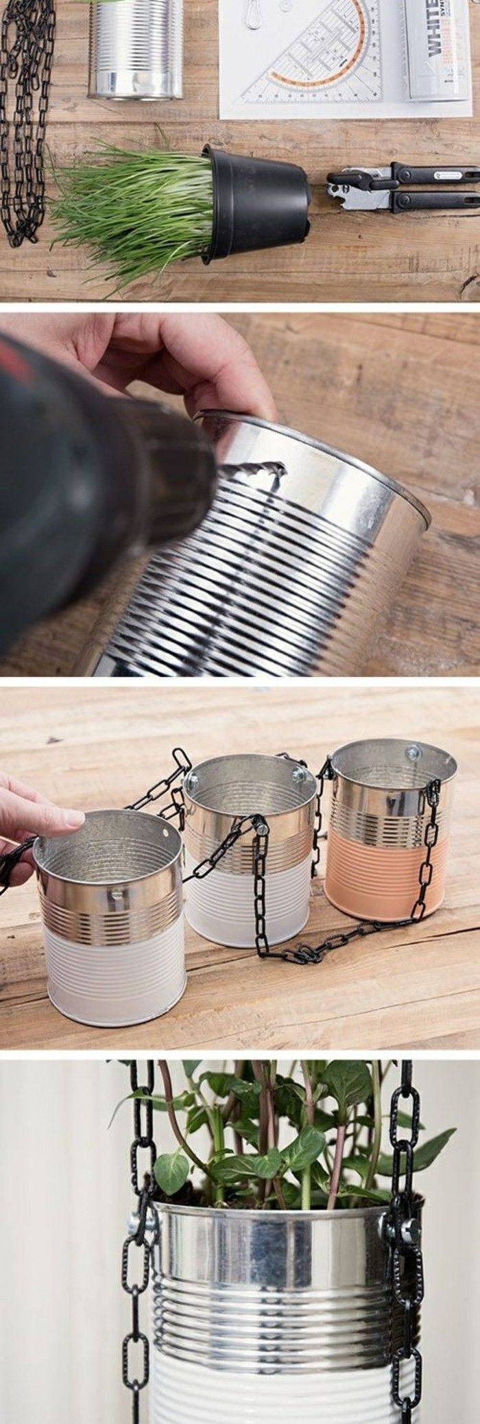 Basteln mit Konservendosen: 61 tolle Ideen dafür!