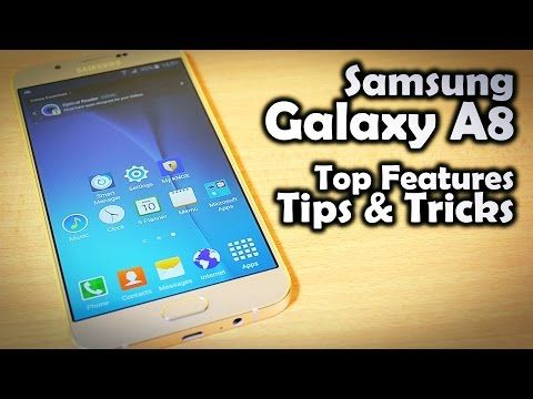 Samsung Galaxy A8 LCD & Touch Screen Replacement Guide - RepairsUniverse - YouTube