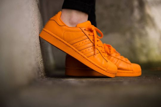 La Internet mucho filtrar  Adidas On Feet | /// adidas Originals Superstar Supercolor by... | Orange  shoes, Adidas originals superstar, Orange sneakers