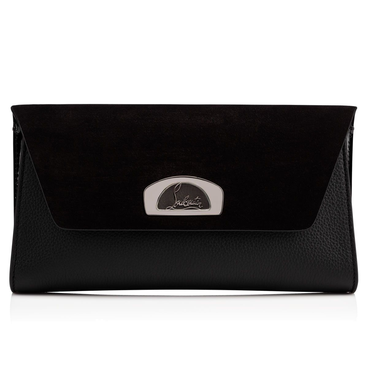 4d5d93908c CHRISTIAN LOUBOUTIN | Vero Dodat Clutch - Black | $ 1,200.00 | In a new,