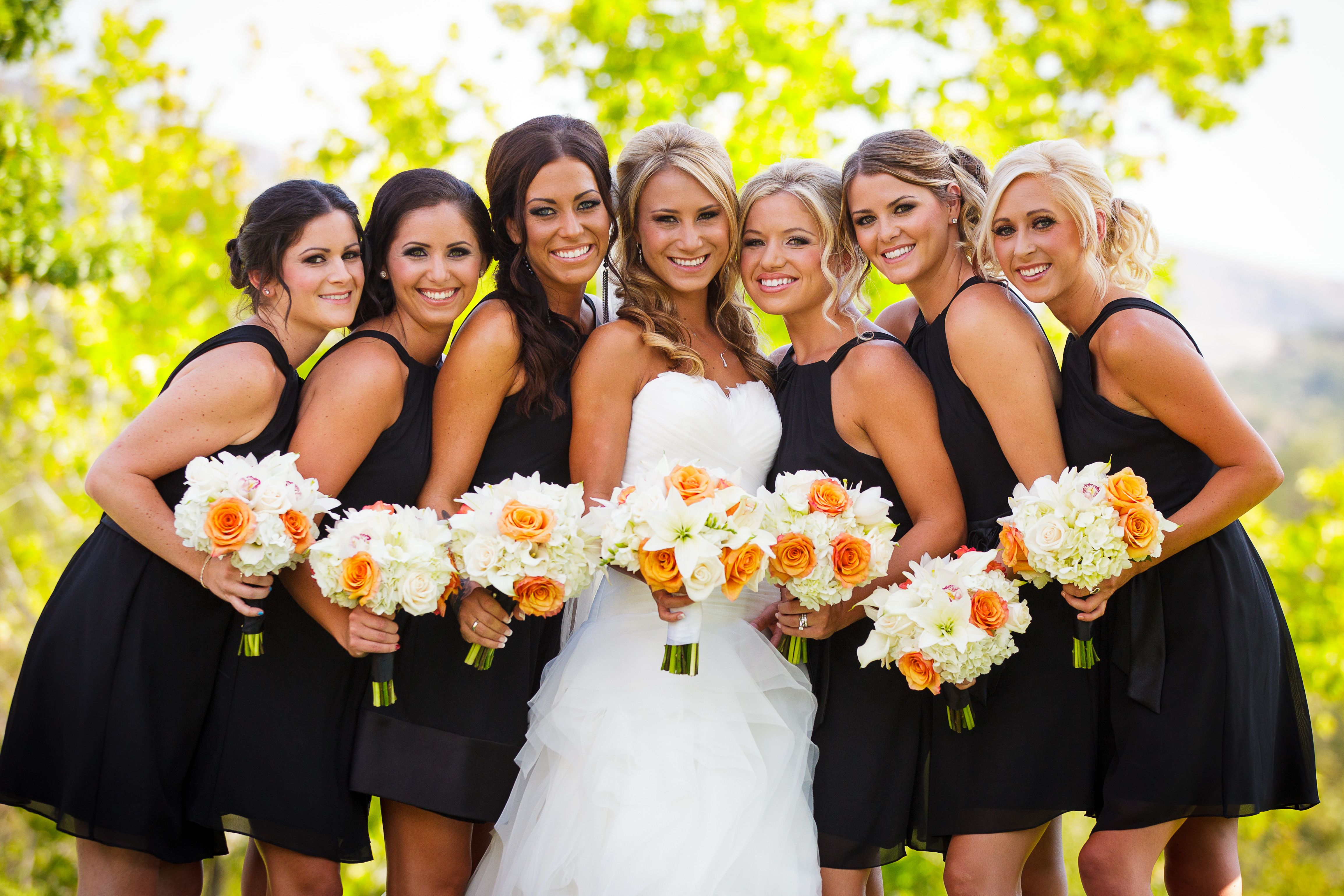 Bridal party photos filed under portfolio posts happily ever dream wedding ombrellifo Image collections