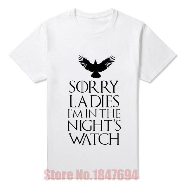 New Arrival Men T Shirts Game of Thrones