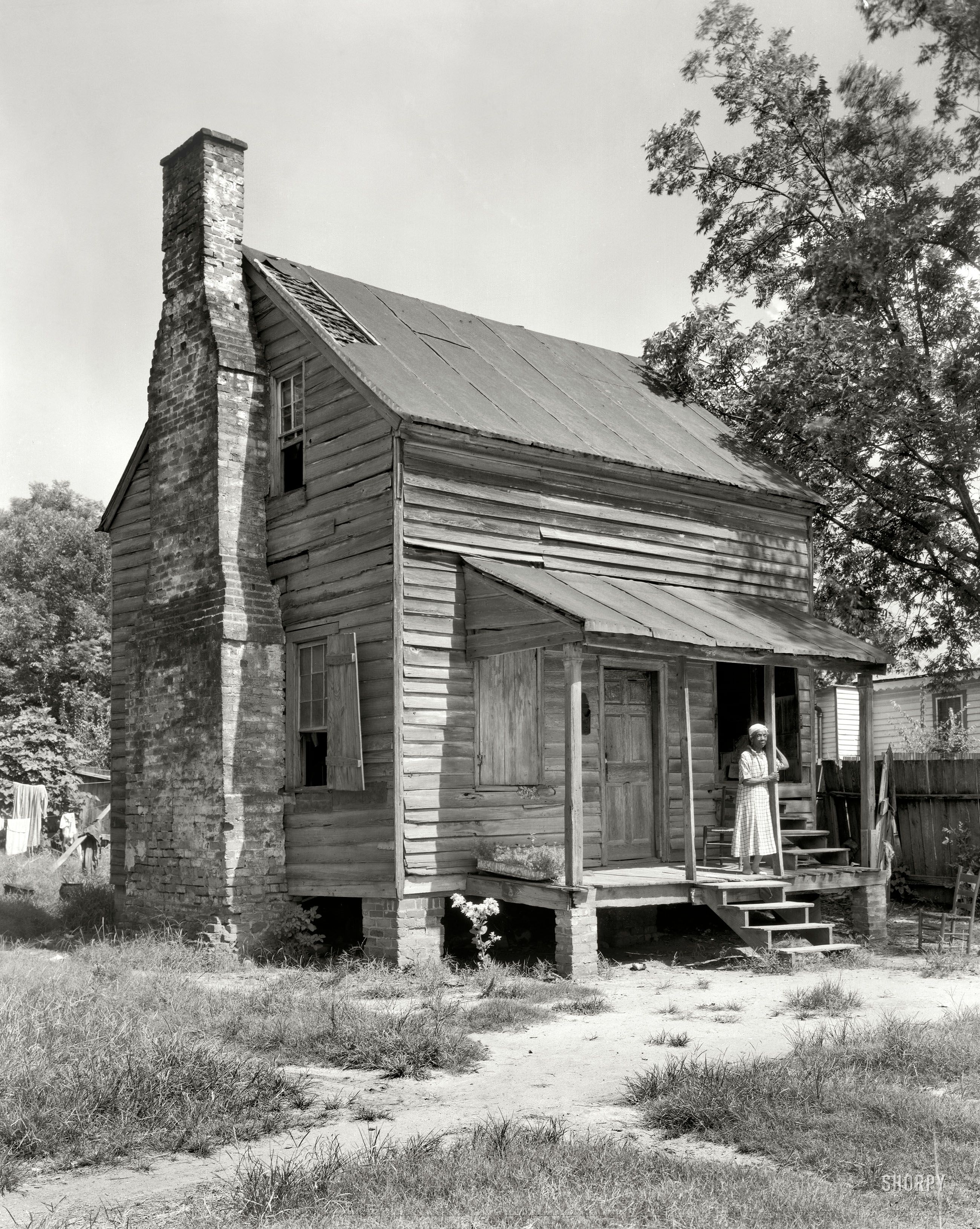 1944 baldwin county georgia former slave cabin for Compact cottages georgia