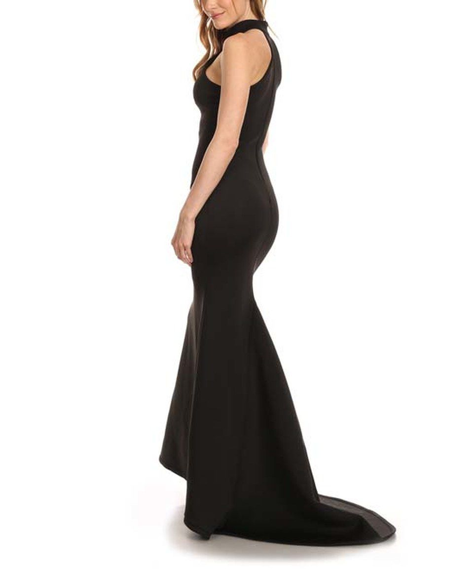 Another great find on #zulily! Karen T. Design Black Racerback Maxi Dress by Karen T. Design #zulilyfinds