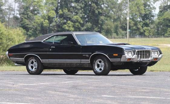 1972 Ford Gran Torino Super Sport Coupe Classic Cars Trucks Hot