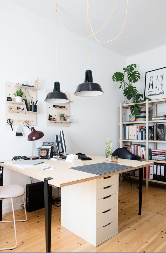 Pied pour table et bureau 75cm en 2019 new home bureau pied bureau et table modulable - Table modulable ikea ...