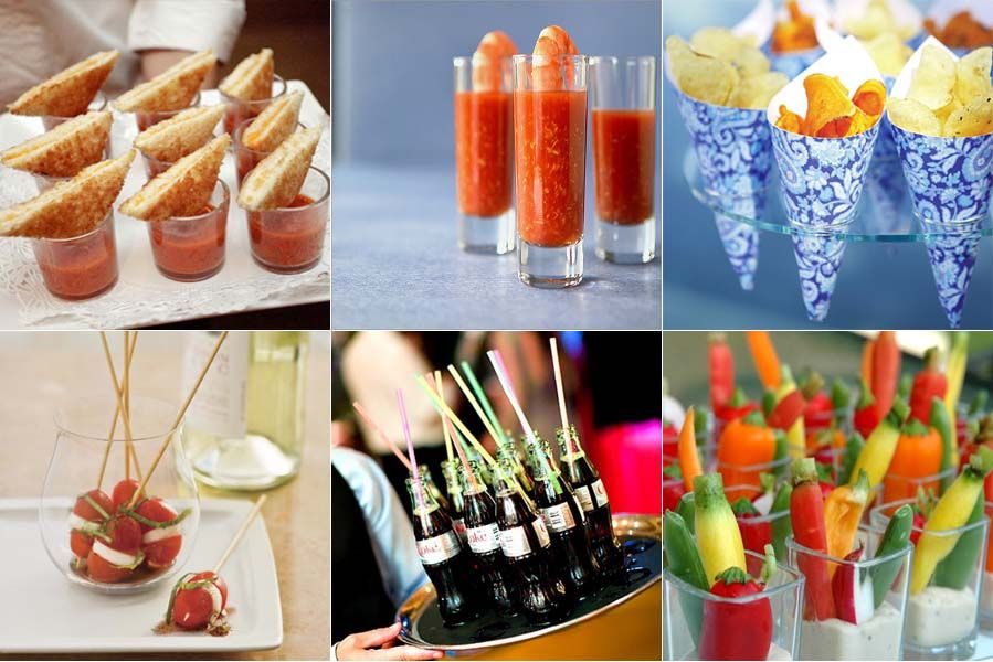 cocktail garden party food trends in appetizers small bites and tasty morsels premier. Black Bedroom Furniture Sets. Home Design Ideas
