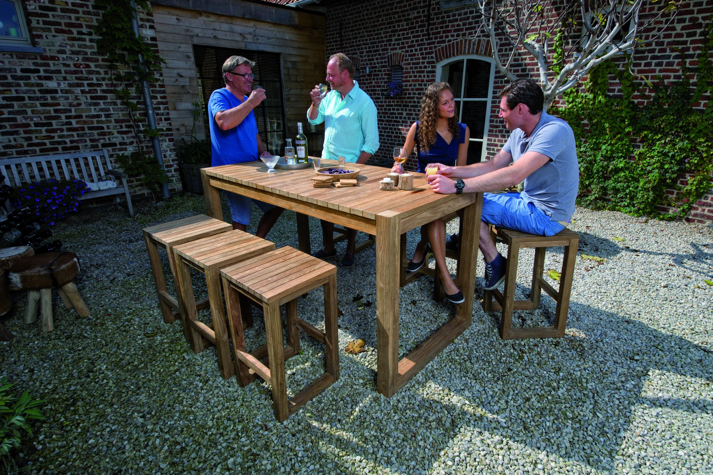Slots Décoration     Table teck, Table et Teck