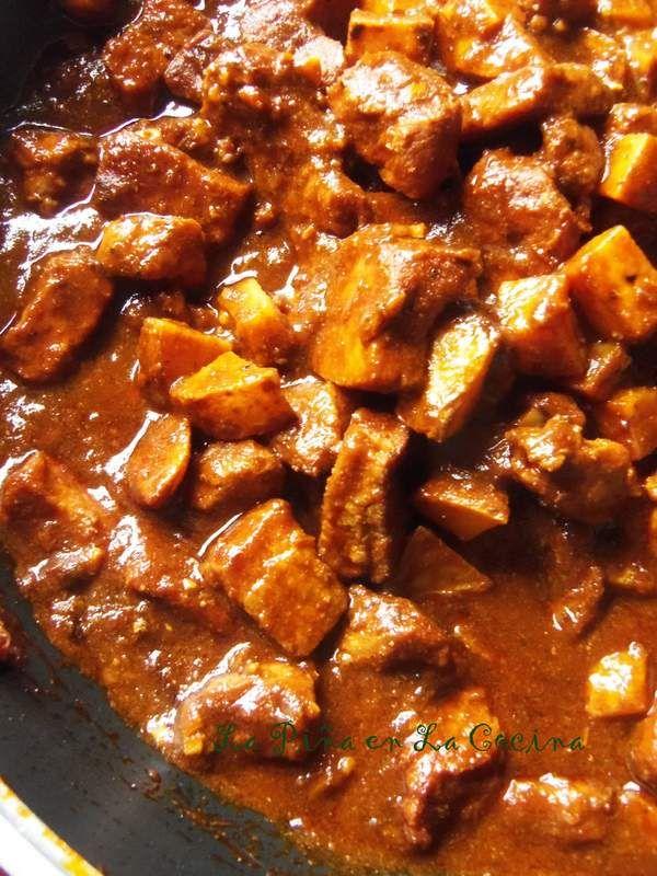 asado de puerco chile colorado home cooking mexican love pinterest chili du colorado. Black Bedroom Furniture Sets. Home Design Ideas