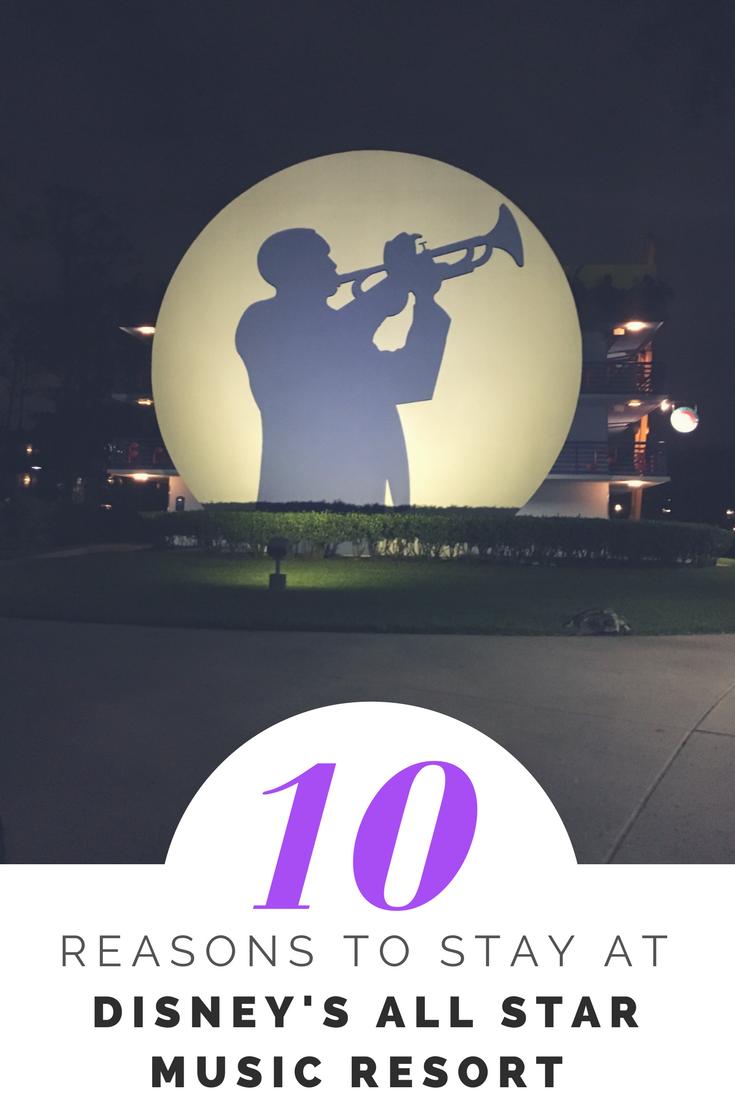 10 Reasons To Stay At All Star Music Resort At Disney