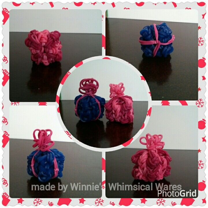 Rainbow loom christmas gifts